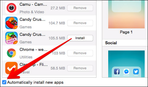 how to stop apps installing automatically