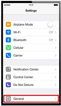 how to find network settings on iphone